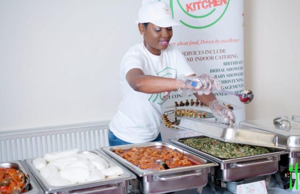 Ruth Mbera Founder OLCOM - Oldham Community Meals